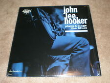 John Lee Hooker LP Plays & Sings The Blues
