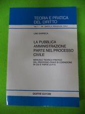 book LIBRO Lino Barreca TEORIA E PRATICA DEL DIRITTO la pubblica GIUFFRE' (L20)