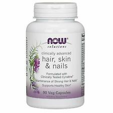 Now Foods Clinically Advanced Hair, Skin & Nail 90 Capsules Free Shipping