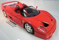 Ferrari F50 Cabrio 1995  Modellauto von Burago im Maßstab 1:18
