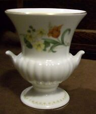 Wedgwood bone China Floral pattern vase urn shape