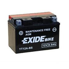 Batterie moto Exide YT12A-BS / 12v 9.5ah neuve