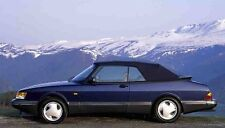 Saab 900 Black Stayfast Convertible Top 1987-1994