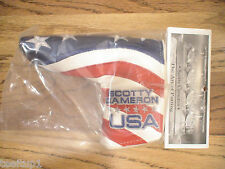 2011 SCOTTY CAMERON USA US OPEN PUTTER FLAG HEADCOVER RORY MCILROY NEW RARE