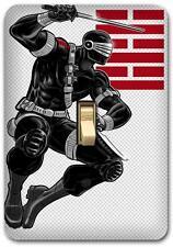 G I Joe Marvel Snake eye Metal Switch plate Wall Cover Lighting Fixture SP736