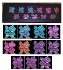 LONDON 2012 OLYMPICS VENUE LOGOS 11 PIN BADGE SET