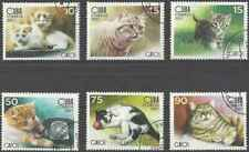 Timbres Chats 4446/51 o (39071)