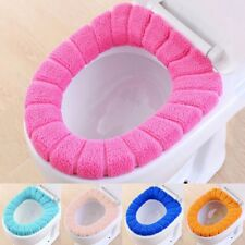 cushioned toilet seat covers. Washable Bathroom Toilet Seat Closestool Soft Warmer Mat Cover Pad Cushion  Padded Seats eBay