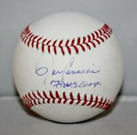 John Candelaria Signed Rawlings OML Baseball 79 WS Champs- Jersey Source Auth
