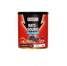 RATICIDE SOURICIDE SACHET PATE FORTE INFESTATION RAT SOURIS RONGEUR CAUSSADE