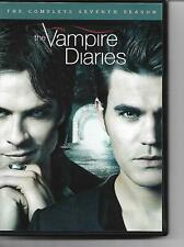 The Vampire Diaries! DVD! The Complete Seventh Season! Supernatural Thriller! Ho