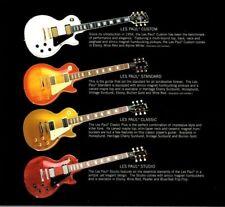 2001 GIBSON Guitars Catalog/Brochure; Les Paul,ES,SG,BB,V,Chet Atkins,NIKKI SIXX