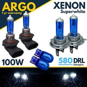 For VW UP Headlight Bulbs DRL Super White Xenon Fog Light Sidelight Led Hid 12v