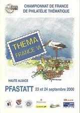 """Catalogue de l'Exposition """" THEMAFRANCE VI"""" à Pfastatt les 23 et 24.09.2000"""