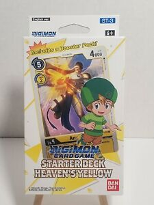 Bandai * Digimon TCG * Starter Deck Heaven's Yellow