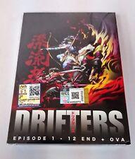 DRIFTERS The Complete Anime TV Series Ep.1 - 12 End PLUS OVA DVD Box Set
