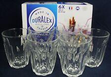 Duralex Provence Glass Juice Water Tumblers Glasses Set 250ml x6