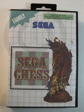 SEGA MASTER GAME vintage, Chess used but GOOD