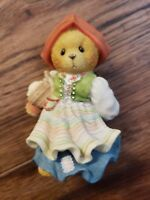 """Vintage Cherished Teddies """" You Are The Swedish Of Them All """" Figurine In Box"""