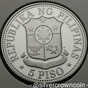 Philippines 5 Piso 1978 FM Proof. KM#210.1. 5 Peso Dollars coin. 4,792 Mintage.