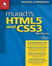 Murach's HTML5 and CSS3-- 3rd Edition