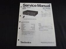 Original Service Manual Technics SL-PS50