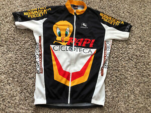 Giordana Tweety Large Full Zip Cycling Jersey