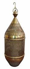 Large Antique Moroccan Brass Lantern