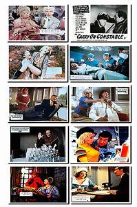 CARRY ON FILMS - LOBBY CARD POSTCARD SET # 1