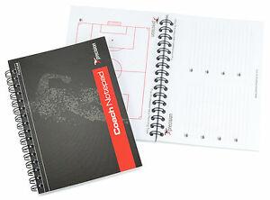 Precision Training Football Coach Note Pad - Manager Coaches Cheap Tactics Book
