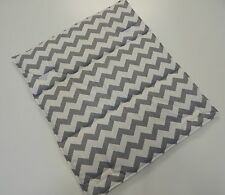 Gorgeous Change Mat Padded Chevron - Grey - Great Baby Shower Gift! Easy Care