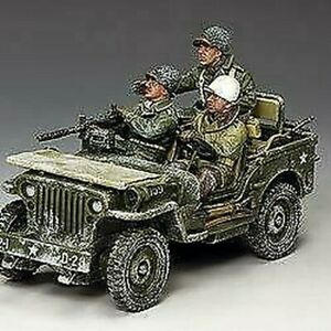 BBA084 - The Winter Jeep - Bulge - King and Country