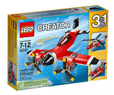 Brand New Lego Creator Propeller Plane l3 in 1 Helicopter Hydroplane 31047