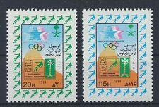 Saudi Arabien 790/91 postfrisch / Fußball + Olympiade ..........................
