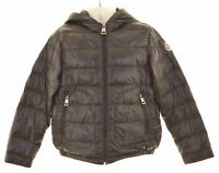 MONCLER Boys Padded Jacket 4-5 Years Black Nylon  EQ03