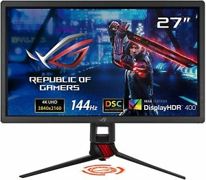 "ASUS ROG Strix 27"" Gaming Monitor 4K (3840 x 2160) 144Hz XG27UQ Adaptive Sync"