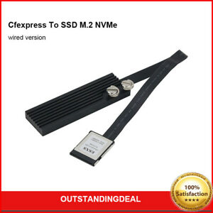 ESXS Cfexpress To SSD M.2 NVMe Wired Version Cfexpress Adapter For Canon Nikon