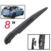 Windscreen Wiper Blade Arm Kit Rear Window Set For Toyota Corolla Hatchback 13->