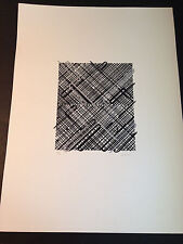 """Ed Moses """"Shago 3"""" Original Lithograph, Hand Signed & Numbered, Limited Edition"""