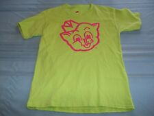 Piggly Wiggly I'm Big On The Pig double-sided green Children's T-Shirt Size L