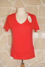 Tee-shirt rouge neuf taille S marque M.X.O étiqueté à 18€ (ng)