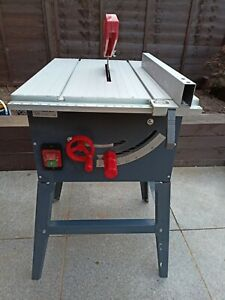 Performance Table Saw with Stand