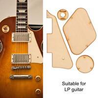 Maple Scratch Plate Pickguard Cavity Switchs Cover Fr LP Les Paul Guitar Luthier