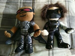 *LOT* Official Marvel Winter Soldier & Falcon plush dolls toys