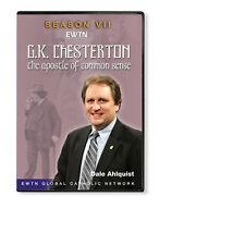 G K CHESTERTON APOSTLE OF COMMON SENSE 7 W/Dale Ahlquist  * AN EWTN DVD