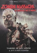 Zombie Massacre DVD Movie / New Fast Ship (VG-266632DV / VG-166)