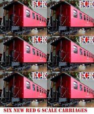 Articoli di modellismo ferroviario scala G rosso