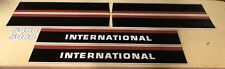 International 5488 hood and cab decals
