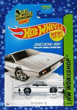 James Bond 007 Hot Wheels Lotus Esprit S1 Die Cast Car The Spy Who Loved Me New