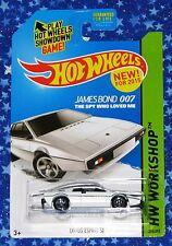 James Bond 007 Hot Wheels Lotus Esprit S1 Die Cast Car The Spy Who Loved Me MISP